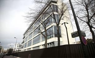 Le siège de la Direction centrale du renseignement intérieur à Levallois-Perret.