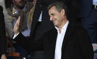 Nicolas Sarkozy le 27 septembre 2017 au Parc des Princes.