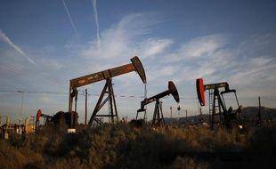 Des puits de pétrole près de McKittrick, en Californie, en mars 2014