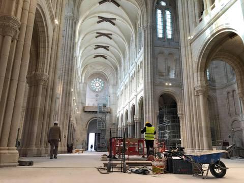 La basilique Saint-Donatien à Nantes, le 15 avril 2021