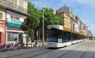 Le tramway de Marseille.