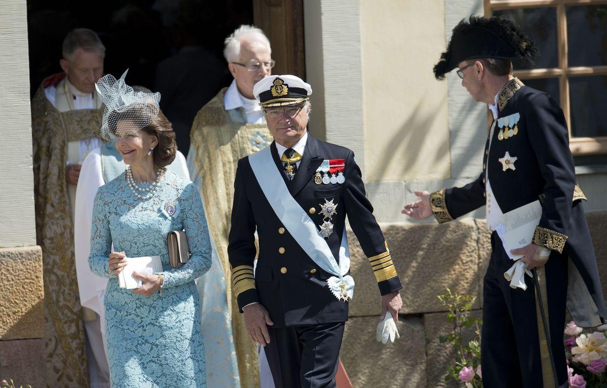 Carl XVI Gustaf de Suède et la Reine Silvia – J. Nackstrand-AFP