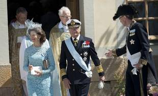 Carl XVI Gustaf de Suède et la Reine Silvia