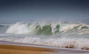 La victime s'amusait à creuser des galeries sous le sable, sur une plage des Landes (illustration)