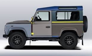 Image du Land Rover Defender Paul Smith