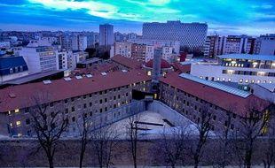 La prison de la Santé à Paris.