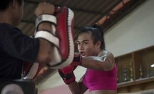 Nong Rose s'est longuement préparée pour son premier combat à l'étranger.