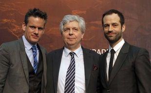 Philippe Jordan, Stephane Lissner et Benjamin Millepied, la novuelle équipe de l'Opéra de Paris.