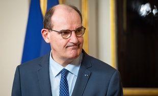 Jean Castex, le 15 mars 2021 à Paris.