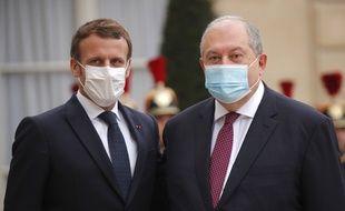 Emmanuel Macron et Armen Sarkissian