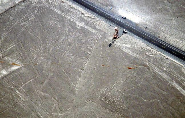 Pérou: De nouveaux géoglyphes ont été découverts grâce à l'intelligence artificielle