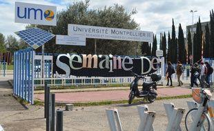 La faculté des sciences de Montpellier.