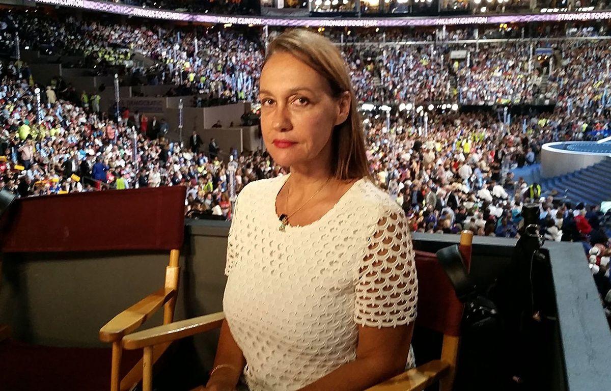 Laurence Haïm, correspondante Canal+ aux USA et reine politicolol de Twitter –  CANAL+/CAPA