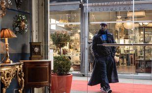 La première image de la série «Arsène Lupin» avec Omar Sy dans le rôle-titre.