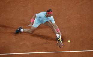 Nadal lors de la finale 2020 à Roland-Garros.