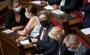 Jean-Luc Mélenchon en colère