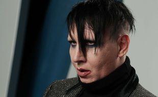Marylin Manson lors de la Vanity Fair Oscar Party en 2020