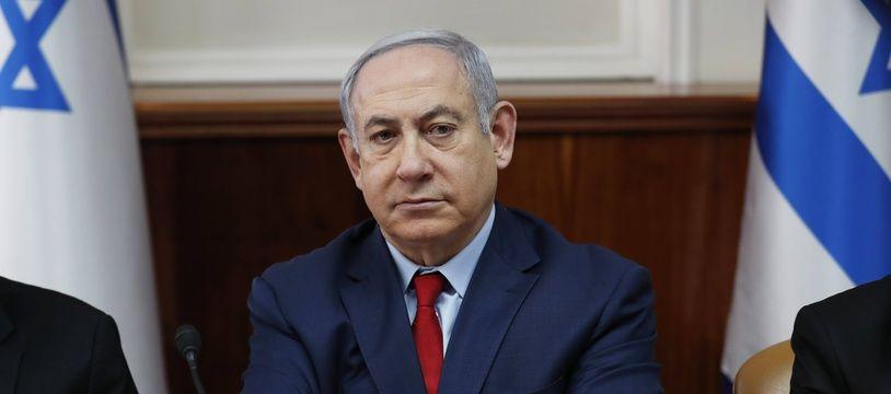 Le Premier ministre israélien Benjamin Netanyahu, le  janvier 2020 à Jérusalem.