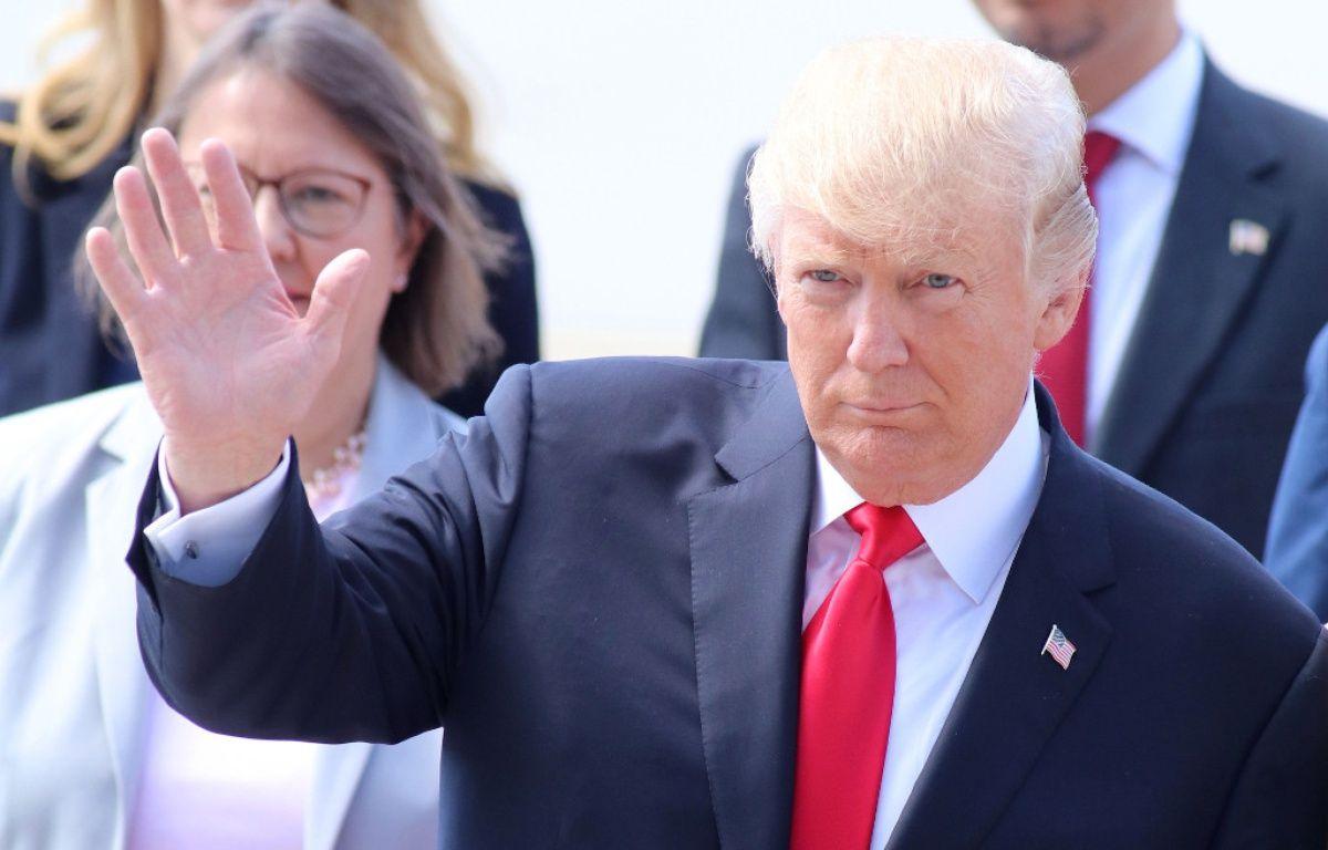 Le président des Etats-Unis Donald Trump lors du sommet du G20 – WENN