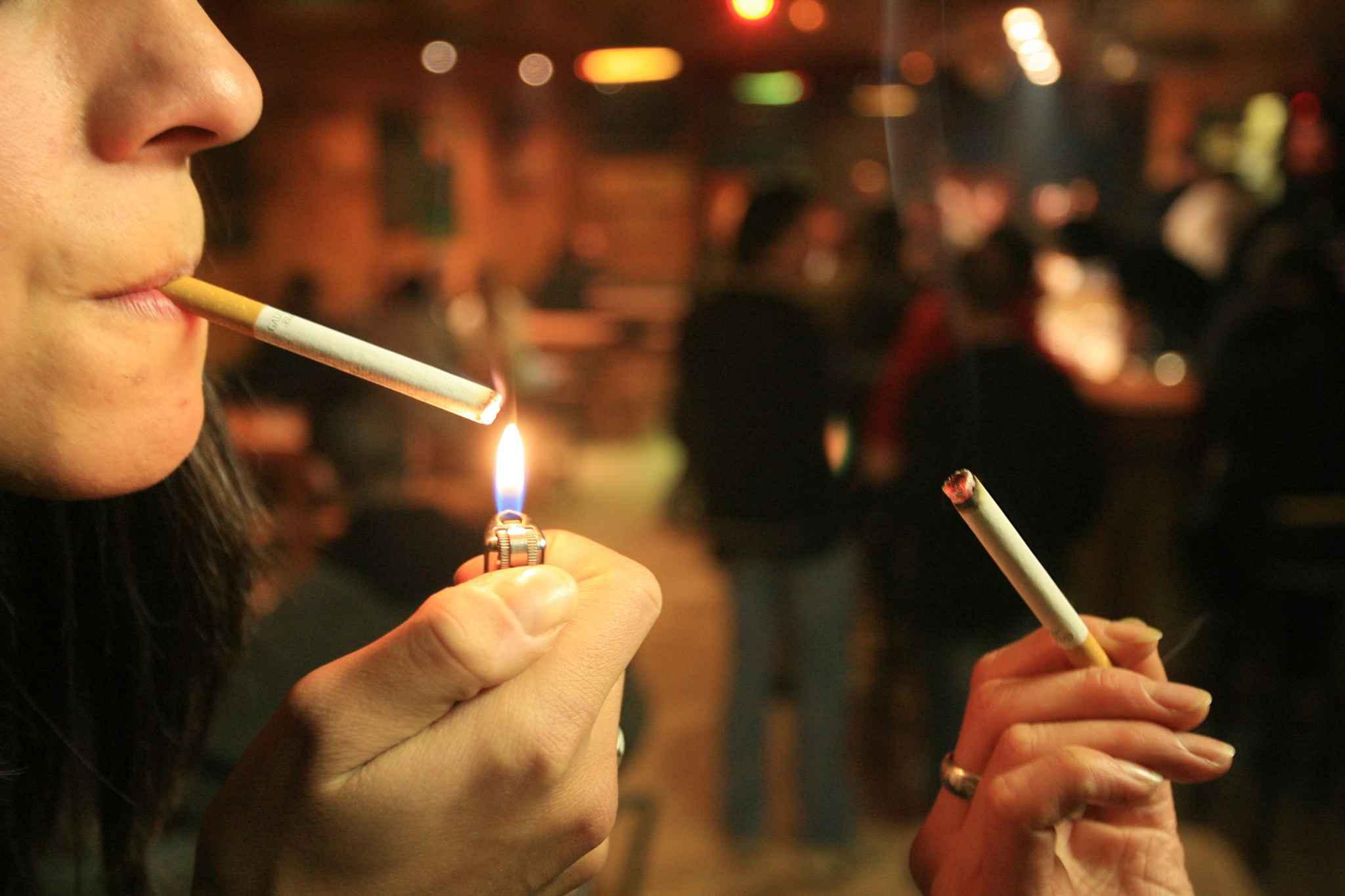 Articles sur le tabagisme dans les lieux publics