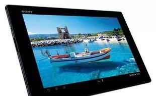 La tablette Xperia Z de Sony, un modèle 10 pouces haut de gamme sous Android.