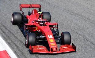 Charles Leclerc s'est crashé lors du GP de Monza.