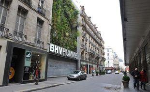 L'un des projets en lice consiste à végétaliser une quarantaine  de murs de la capitale.