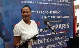 Candidate LR aux législatives 2017 à Paris, Babette de Rozières a été déclarée inéligible pour un an en raison d'irrégularités dans ses comptes de campagne. (Illustration)