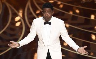 Chris Rock présente la cérémonie des Oscars, le 28 février 2016.