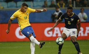 Thiago Silva, avec la sélection brésilienne