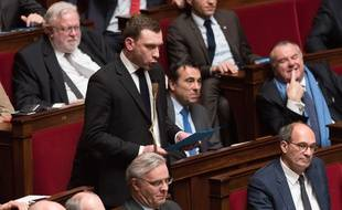 Julien Dive, député (LR) de la 2e circonscription de l'Aisne.