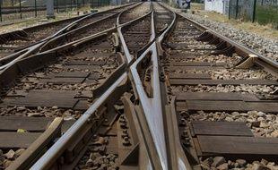Illustration. Une voie ferrée. Photo : V. Wartner / 20 Minutes