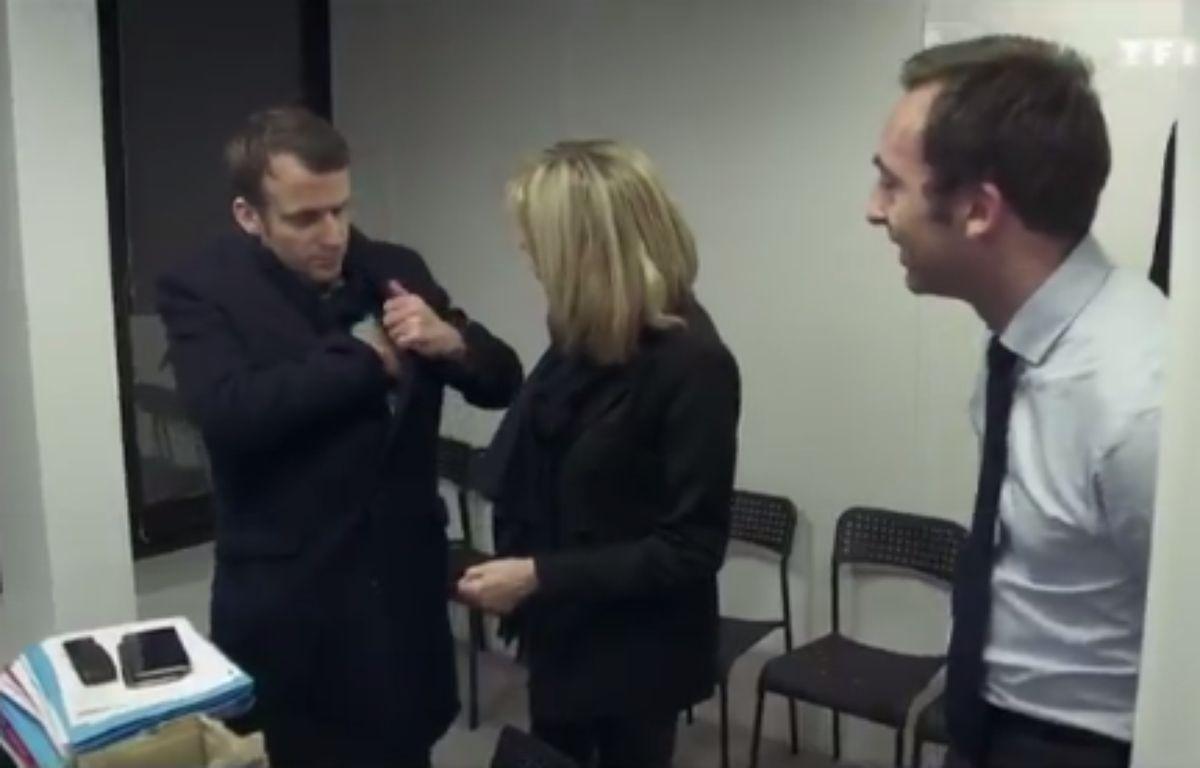 Extrait du documentaire «Emmanuel Macron, les coulisses d'une victoire», diffusé lundi 8 mai 2017 sur TF1.  – TF1