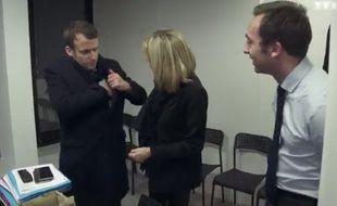 Extrait du documentaire «Emmanuel Macron, les coulisses d'une victoire», diffusé lundi 8 mai 2017 sur TF1.