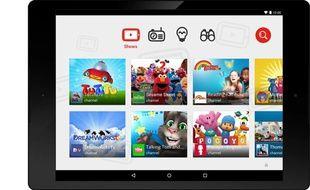 L'application de vidéos pour enfants YouTube Kids (illustration).
