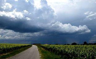 Les orages et inondations en France