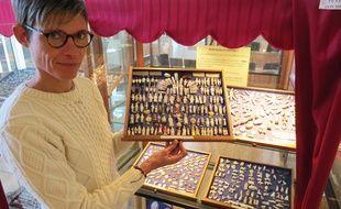 Stéphanie Briand-Viaud, responsable du musée de Blain (Loire-Atlantique).