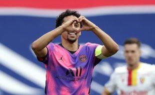 Marquinhos, le nouveau n°9 du PSG.