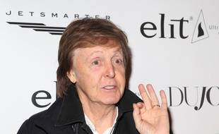 L'ancien Beatles Paul McCartney à New York