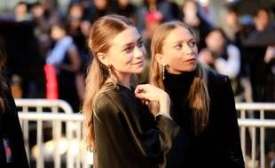 Mary-Kate et Ashley Olsen aux CFDA Fashion Awards le 1er juin 2015.