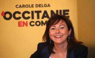 Carole Delga, la présidente PS sortante de la région Occitanie.