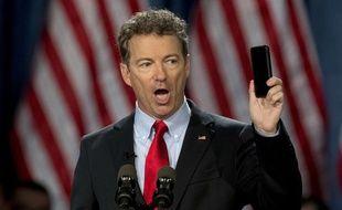 Le sénateur Rand Paul, candidat à l'investiture républicaine pour la présidentielle 2016, est opposé à la collecte de données par la NSA.