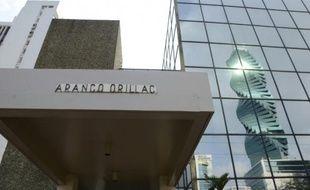 Vue du bâtiment du cabinet d'avocats panaméen Mossack Fonseca, à Panama, le 3 avril 2016