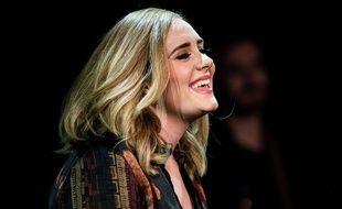 La chanteuse Adele à Londres en décembre 2015