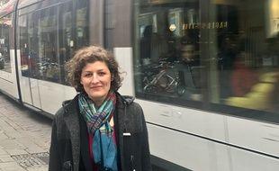 Jeanne Barseghian est la candidate de la liste « écolo & citoyenne » pour les municipales à Strasbourg.