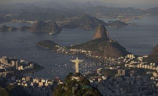 La baie de Rio, au Brésil, le 8 juin 2014.