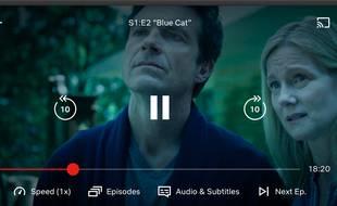 Netflix teste la possibilité d'accélérer le défilement des vidéos sur certains appareils.