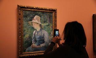 Un tableau de Camille Pissarro au musée Marmottan. (Image d'illustration)