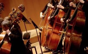 26 musiciens de l'ONL ont improvisé un petit concert en visioconférence.