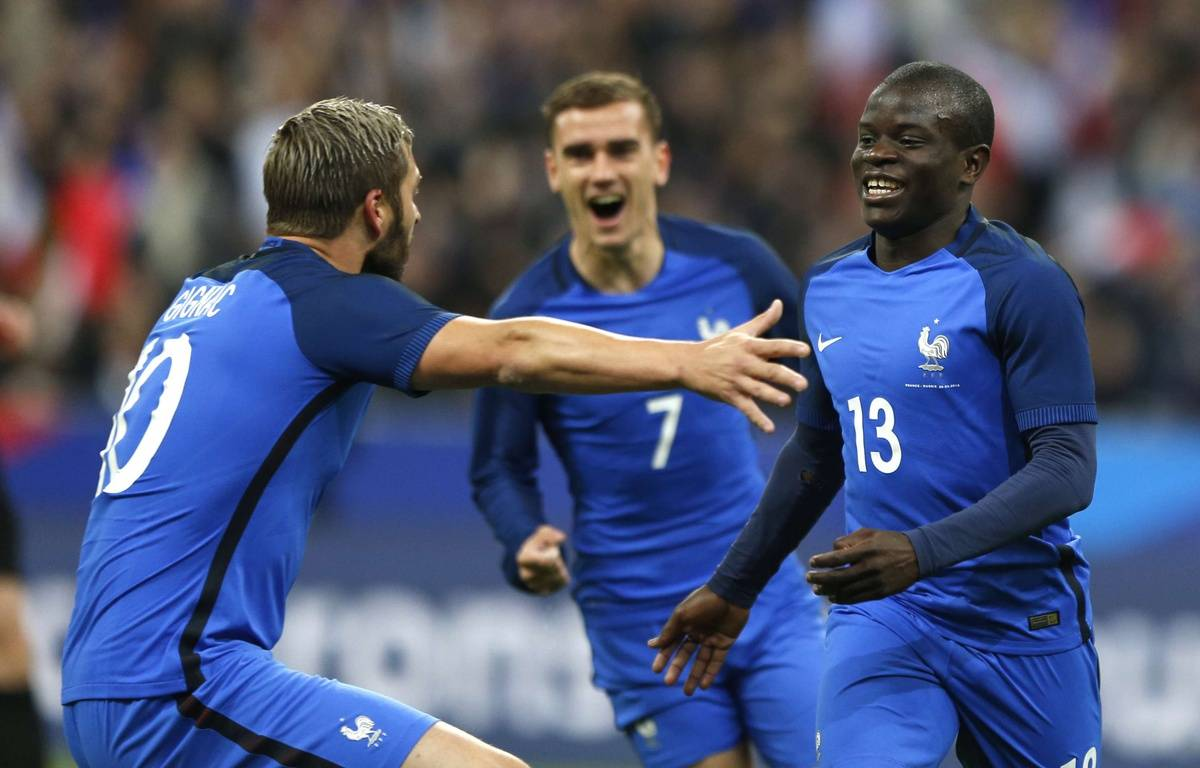 N Golo Kanté blessé et déj forfait Chelsea FC FrenchBlues